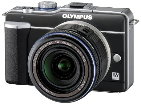 51AeJBCUtPL. AC  - Olympus PEN E-PL1 12.3MP Live MOS Micro Four Thirds Mirrorless Digital Camera with 14-42mm f/3.5-5.6 Zuiko Digital Zoom Lens (Black)