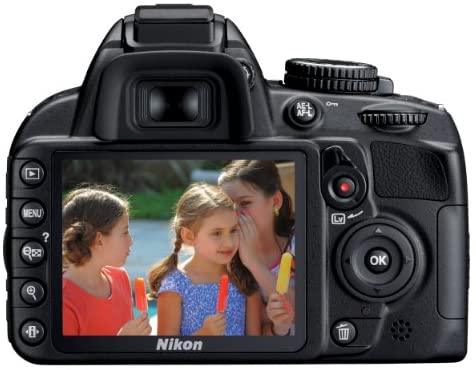 51Hn 7 oxcL. AC  - Nikon D3100 DSLR Camera with 18-55mm f/3.5-5.6 Auto Focus-S Nikkor Zoom Lens (Discontinued by Manufacturer)