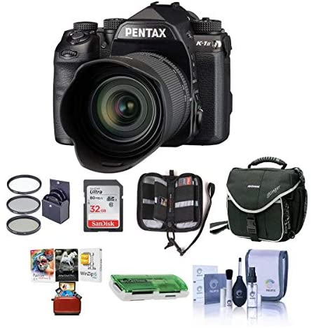 51PTwgUG5nL. AC  - Pentax K-1 Mark II Digital SLR with HD D FA L 28-105mm F3.5/5.6 ED Lens - Bundle with 32GB SDHC Card, Camera Case, 62mm Filter Kit, Cleaning Kit, Memory Wallet, Card Reader, Mac Software Pack