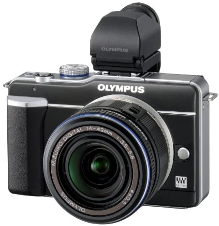 51Slz1zTBZL. AC  - Olympus PEN E-PL1 12.3MP Live MOS Micro Four Thirds Mirrorless Digital Camera with 14-42mm f/3.5-5.6 Zuiko Digital Zoom Lens (Black)
