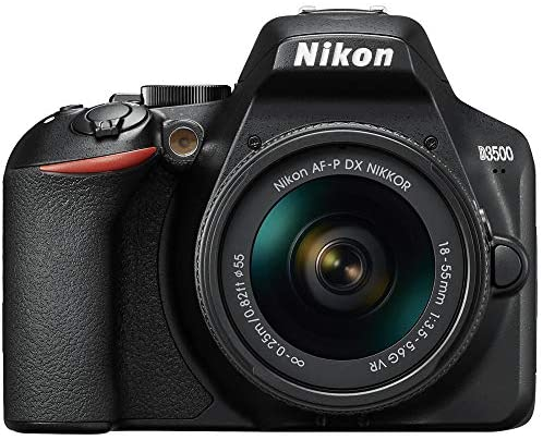 51V3g6C kmL. AC  - Nikon D3500 24.2MP DSLR Camera with AF-P DX NIKKOR 18-55mm f/3.5-5.6G VR Lens (1590B) – (Renewed)
