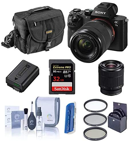 51aA+Py4mIL. AC  - Sony Alpha a7II Digital Camera with FE 28-70mm f/3.5-5.6 OSS Lens - Bundle with Camera Case, 32GB Class 10 SDHC Card, Filter Kit (UV/CPL/ND2), Clean Kit, SD Card Reader, Card Wallet
