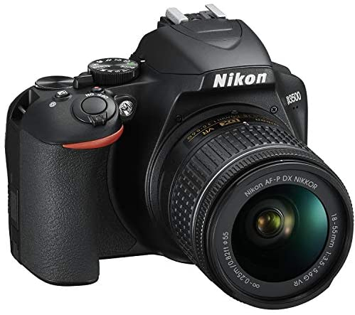 51aGpF6OJTL. AC  - Nikon D3500 24.2MP DSLR Camera with AF-P DX NIKKOR 18-55mm f/3.5-5.6G VR Lens (1590B) – (Renewed)