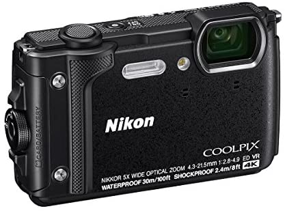 51azCPZI2BL. AC  - Nikon Coolpix W300 Point & Shoot Camera, Black - Bundle with 16GB SDHC Card, Camera Case, Cleaning Kit, PC Software Package