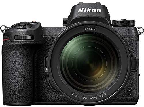 51bnF2Ie16L. AC  - Nikon Z 6 Mirrorless Digital Camera with 24-70mm Lens and FTZ Mount Adapter Kit with Spare EN-EL15B Battery and Charger