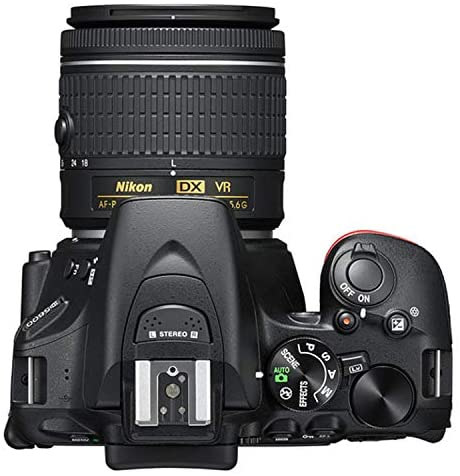 51cHdcPW0zL. AC  - Nikon D5600 DSLR Camera Kit with 18-55mm VR + 70-300mm Zoom Lenses | Built-in Wi-Fi | 24.2 MP CMOS Sensor | EXPEED 4 Image Processor and Full HD 1080p | SnapBridge Bluetooth Connectivity