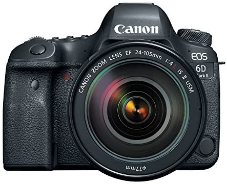 51ce7aO+NiL. AC  - Canon EOS 6D Mark II DSLR Camera with EF 24-105mm USM Lens, WiFi Enabled