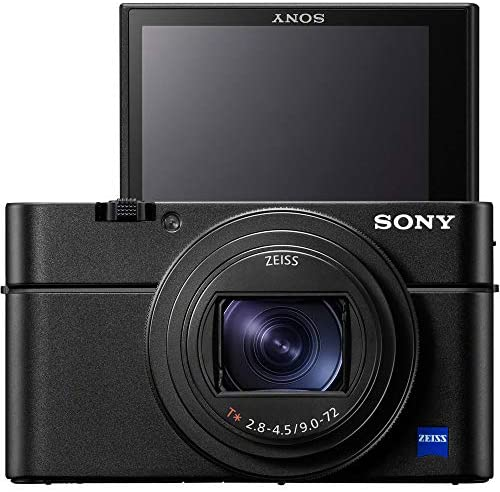 51d6DHrzSlL. AC  - Sony Cyber-Shot RX100 VII RX100M7 Premium Compact Camera DSC-RX100M7 Enhanced Bundle with Triple 3X Battery Pack + 64GB Memory Card + Deco Gear Travel Case Accessory Kit & Photo Video Software