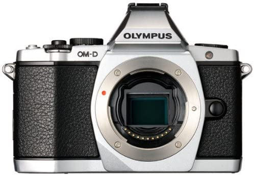 51fhQ7cu84L. AC  - Olympus OM-D E-M5 16MP Live MOS Mirrorless Digital Camera with 3.0-Inch Tilting OLED Touchscreen [Body Only] Silver (Discontinued by Manufacturer)