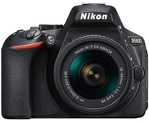 51l9YR1R1EL. AC  - Nikon D5600 DSLR Camera Kit with 18-55mm VR + 70-300mm Zoom Lenses | Built-in Wi-Fi | 24.2 MP CMOS Sensor | EXPEED 4 Image Processor and Full HD 1080p | SnapBridge Bluetooth Connectivity
