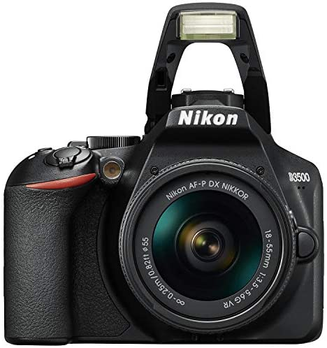 51mBuyy YmL. AC  - Nikon D3500 24.2MP DSLR Camera with AF-P DX NIKKOR 18-55mm f/3.5-5.6G VR Lens (1590B) – (Renewed)