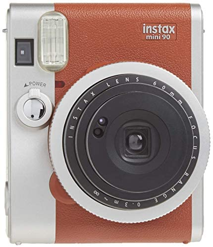 51pWtLQYcZL. AC  - Fujifilm Instax Mini 90 Instant Film Camera (Brown)