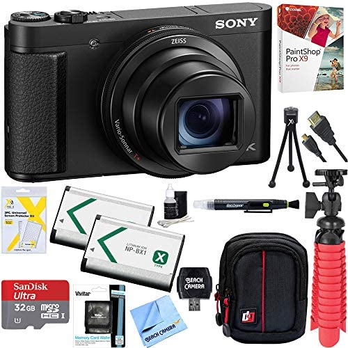 51qxmFRaK+L. AC  - Sony Cyber-Shot DSC-HX99 High Zoom 4K Camera + 32GB SDHC Memory Accessory Bundle