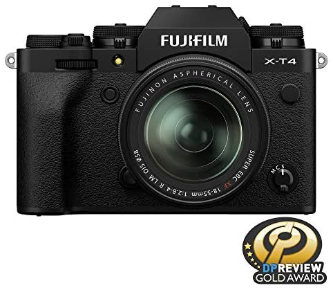 51rJxDJ6ImL. AC  - Fujifilm X-T4 Mirrorless Camera Body - Black