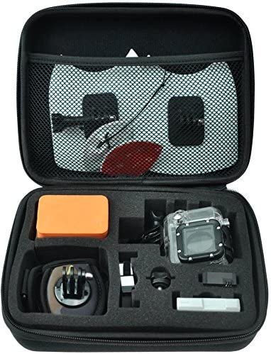 51uaz4zBc5L. AC  - GoPro Hero 8 Action Camera with 2 Total Batteries, Two Sandisk 32GB Extreme MicroSD Cards, GoPro Shorty Tripod, Head Mount Strap, Camera Case, Card Reader and Cleaning Cloth