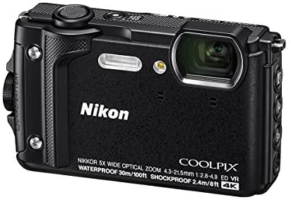 51xWll0 +iL. AC  - Nikon Coolpix W300 Point & Shoot Camera, Black - Bundle with 16GB SDHC Card, Camera Case, Cleaning Kit, PC Software Package