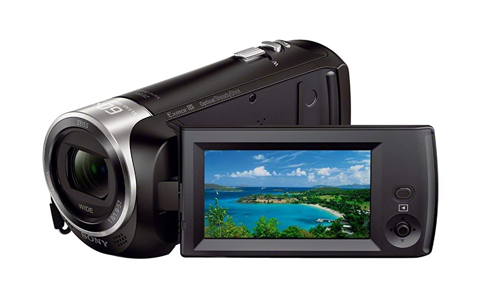 7b02c914 6547 4151 8b61 101e7277ea9f. CR0,29,1200,742 PT0 SX970   - Sony CX405 Handycam 1080p Camcorder with 32GB SD Card and Accessory Bundle