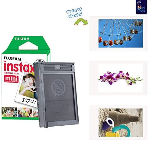 1622070516 344 51f1TBqHSyL. AC  - Fujifilm Instax Mini 11 Instant Camera Lilac Purple + Carrying Case + Fuji Instax Film Value Pack (40 Sheets) Accessories Bundle, Color Filters, Photo Album, Assorted Frames
