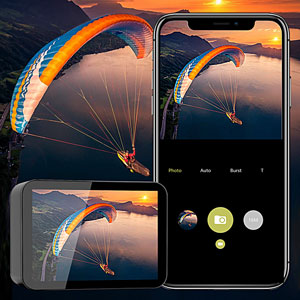 1c090298 57c1 4cc6 8b8d b63e89ebb196.  CR0,0,300,300 PT0 SX300 V1    - Campark X30 Action Camera Native 4K 60fps 20MP WiFi with EIS Touch Screen Waterproof Camera 40M, 2x1350mAh Batteries and Professional Accessories