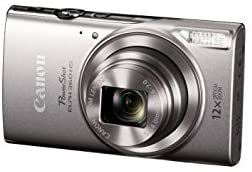 3103JTxYjLL. AC  - Canon PowerShot ELPH 360 Digital Camera w/ 12x Optical Zoom and Image Stabilization - Wi-Fi & NFC Enabled (Silver)