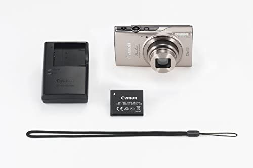 313dVs2BO3L. AC  - Canon PowerShot ELPH 360 Digital Camera w/ 12x Optical Zoom and Image Stabilization - Wi-Fi & NFC Enabled (Silver)