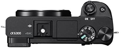 """31M49JlHmvL. AC  - Sony Alpha a6300 Mirrorless Camera: Interchangeable Lens Digital Camera with APS-C, Auto Focus & 4K Video - ILCE 6300 Body with 3"""" LCD Screen - E Mount Compatible - Black (Includes Body Only)"""