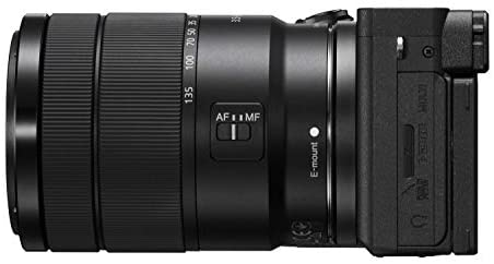 31MBT9R6onL. AC  - Sony Alpha A6600 Mirrorless Camera with 18-135mm Zoom Lens