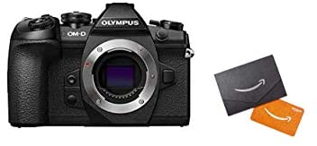 31NiyG7wxZL. AC  - Olympus OM-D E-M1 Mark II Camera Body Only, (Black) with $150 in Amazon.com Gift Cards