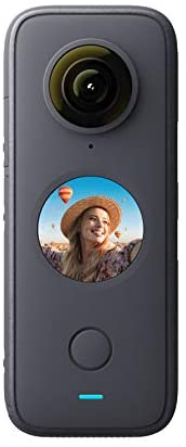 31Saww30M1L. AC  - Insta360 ONE X2 360 Degree Waterproof Action Camera, 5.7K 360, Stabilization, Touch Screen, AI Editing, Live Streaming, Webcam, Voice Control