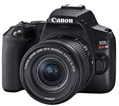 31YFcVBviYL. AC  - Canon EOS REBEL SL3 Digital SLR Camera with EF-S 18-55mm Lens kit, Built-in Wi-Fi, Dual Pixel CMOS AF and 3.0 Inch Vari-Angle Touch Screen, Black