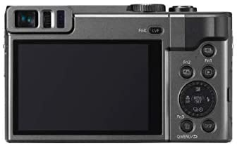 31chB5n+LnL. AC  - Panasonic LUMIX DC-ZS70S, 20.3 Megapixel, 4K Digital Camera, Touch Enabled 3-inch 180 Degree Flip-Front Display, 30X Zoom (Silver), Bag, Extra Battery-Charger, 32GB SD Card, PC Software Kit, Tripod