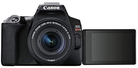 31d XHbMjwL. AC  - Canon EOS REBEL SL3 Digital SLR Camera with EF-S 18-55mm Lens kit, Built-in Wi-Fi, Dual Pixel CMOS AF and 3.0 Inch Vari-Angle Touch Screen, Black