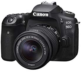 31g6 +1Y4jL. AC  - Canon DSLR Camera [EOS 90D] with EF-S 18-55 is STM Lens Kit, Built-in Wi-Fi, Dual Pixel CMOS AF and 3.0-inch Vari-Angle Touch Screen, Black