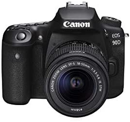 31gTi24x 7L. AC  - Canon DSLR Camera [EOS 90D] with EF-S 18-55 is STM Lens Kit, Built-in Wi-Fi, Dual Pixel CMOS AF and 3.0-inch Vari-Angle Touch Screen, Black