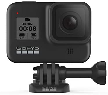 31h4kKytU8L. AC  - GoPro HERO8 Black - Waterproof Action Camera with Touch Screen 4K Ultra HD Video 12MP Photos 1080p Live Streaming Stabilization