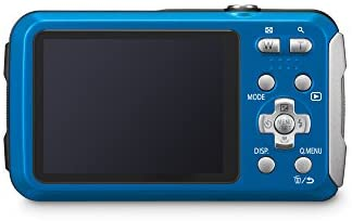 31hwGh5SIOL. AC  - Panasonic LUMIX Waterproof Digital Camera Underwater Camcorder with Optical Image Stabilizer, Time Lapse, Torch Light and 220MB Built-In Memory – DMC-TS30A (Blue)