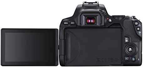 31sQGRVm0 L. AC  - Canon EOS REBEL SL3 Digital SLR Camera with EF-S 18-55mm Lens kit, Built-in Wi-Fi, Dual Pixel CMOS AF and 3.0 Inch Vari-Angle Touch Screen, Black