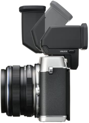 41+qdzYF9tL. AC  - Olympus E-P5 16.1 MP Mirrorless Digital Camera with 3-Inch LCD and 17mm f/1.8 lens (Silver with Black Trim)