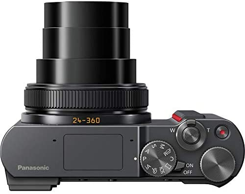 41+wzU 0wPL. AC  - Panasonic Lumix DC-ZS200S Digital Camera (Silver) with 64GB Memory Card, Tabletop Tripod, Camera Case, Flash, Cleaning Kit, Battery, Charger Kit and More