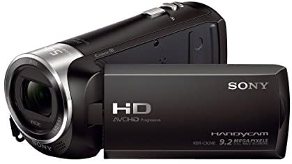 41 Y7IyMs5L. AC  - Sony HDRCX240/BVideo Camera with 2.7-Inch LCD (Black)