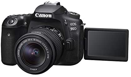 410Puq8vjHL. AC  - Canon DSLR Camera [EOS 90D] with EF-S 18-55 is STM Lens Kit, Built-in Wi-Fi, Dual Pixel CMOS AF and 3.0-inch Vari-Angle Touch Screen, Black