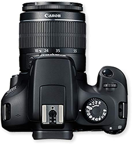 4130c4YJJaL. AC  - Canon EOS 3000D (Rebel T100) DSLR Camera with 18-55mm f/3.5-5.6 Zoom Lens + 32GB Card, Tripod, Case, and More (18pc Bundle)