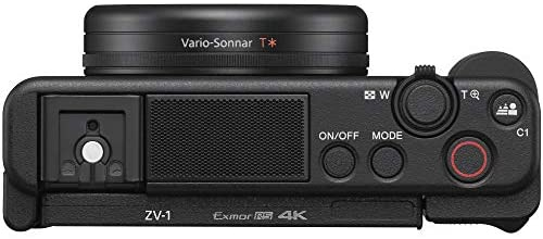 413eSFEaeAL. AC  - Sony ZV-1 Compact Digital Vlogging 4K HDR Video Camera for Content Creators & Vloggers DCZV1/B Bundle with Deco Gear Case + Software Kit + 64GB Card + Compact Tripod/Handheld Grip and Accessories