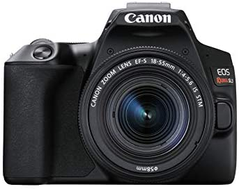 41CTPNGnH0L. AC  - Canon EOS REBEL SL3 Digital SLR Camera with EF-S 18-55mm Lens kit, Built-in Wi-Fi, Dual Pixel CMOS AF and 3.0 Inch Vari-Angle Touch Screen, Black