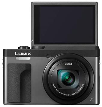 41DPH5A2GfL. AC  - Panasonic LUMIX DC-ZS70S, 20.3 Megapixel, 4K Digital Camera, Touch Enabled 3-inch 180 Degree Flip-Front Display, 30X Zoom (Silver), Bag, Extra Battery-Charger, 32GB SD Card, PC Software Kit, Tripod
