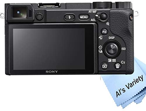 41EtuwkkGmL. AC  - Sony Alpha a6400 Mirrorless Digital Camera with 16-50mm Lens+ 32GB Card, Tripod, Case, and More (18pc Bundle)