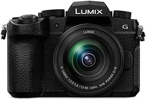 """41FPRIJ8i4S. AC  - Panasonic Lumix DC-G95 Mirrorless Digital Camera with 12-60mm Lens bundle includes Rode VideoMicro , 128GB 170 MB/s Extreme Pro, Protective hard case w/ foam, spare battery, & 62"""" Monopod"""