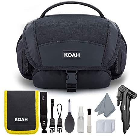 41GfoZQplJL. AC  - KODAK PIXPRO AZ252 Astro Zoom Digital Camera (Black) Bundle with 32GB Card, Case, Koah Nostrand Avenue Gadget Bag with Accessory Kit and Rechargeable Batteries