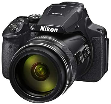 41Gs3cYGT7L. AC  - Nikon COOLPIX P900 16MP Zoom Digital Camera with 83x Optical Zoom, Built-in Wi-Fi and NFC (Black) (Renewed)