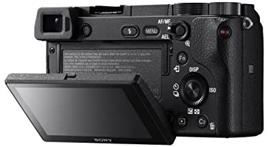 """41JBTu7tcKL. AC  - Sony Alpha a6300 Mirrorless Camera: Interchangeable Lens Digital Camera with APS-C, Auto Focus & 4K Video - ILCE 6300 Body with 3"""" LCD Screen - E Mount Compatible - Black (Includes Body Only)"""